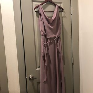 nouvelle AMSALE Dresses - Long mauve dress